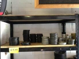 0.5kg Standard Cast Iron Weights (£1 per 1kg)