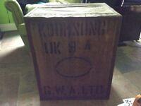 Antique style tea chest