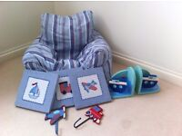 Jojo maman bebe accessories collection for boy's room
