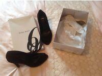 Carvela size 6 black heels