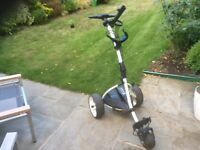 Motocaddy lithium electronic bag carrier