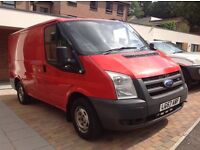 FORD TRANSIT TDCI 2.2 (85) T260S FWD 2008 (57 PLATE)**NO VAT** FULL SERVICE HISTORY, ONE OWNER