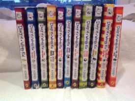 Diary of a Wimpy Kid book Bundle. 11 books from JEFF Kinney.