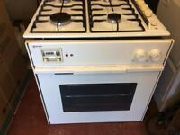 Neff fan oven with new element, and Hoover gas hob.