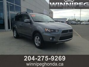 2013 Mitsubishi Outlander LS AWD. 7 seats, Local trade in, Hitc