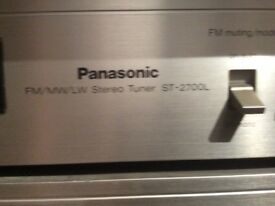 Retro 1970's Panasonic stack system