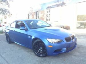 2013 BMW M3 COMPETITION PACKAGE - FROZEN EDITION BLUE - DCT