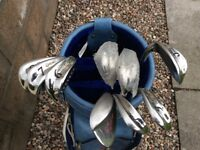Set of Great White Irons. 9 irons.