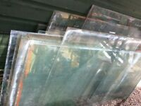 "12 pieces of 24""x24"" greenhouse glass"