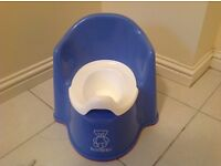 Baby Bjorn Potty Chair (baby blue) - as new condition.