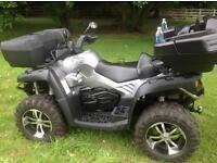 Quadzilla x8 4x4 road legal quad excellent condition 63 reg