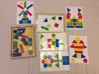 Early Learning Centre - Magnetic pattern Board Toy