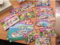 LEGO Friends x12 different sets.
