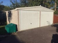 Double garage for rent in Cheltenham, quiet, private location just 2.5 miles from centre
