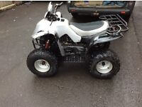 APACHE RLX 100cc QUAD, 2007 MODEL, IN GREAT WORKING ORDER, EVERYTHING WORKS AS IT SHOULD