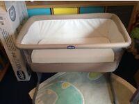 Chicco Next 2 Me Side Sleeping Crib (Dove Grey)