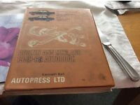 Autopress car Manual for an Austin A55 Mark 2 and A 60.