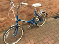 Puch riviera ladies cycle, old style, 3 speed sturmey archers gears