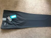 Men's black trousers from Marks and Spencers BNWT