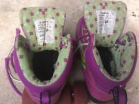 Used Roller Rio Roller Boots/Skates Size 1
