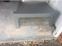 Silver TV Stand Excellent condition .As New