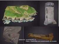 3D Modelling / Photogrammetry / Aerial Survey - Digital Photography Capture Visualisation Artist