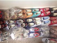 Ladies / Mens Bucketfeet Trainers 2 Pairs for £10 Loads Of Styles Plain And Funky