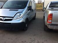 2009 Vauxhall Vivaro 2.0 CDTI 2700 *** Light Frontal Damage ***