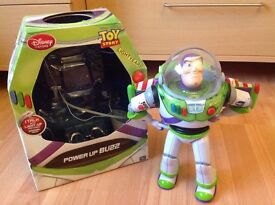 Toy Story Character Toys Talking Jessie and Buzz with original packaging good condition