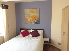 Three rooms available in a shared house ensuite room, 1 small double ensuite room and a double room.