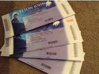 2 Elton John tickets - Newcastle 3.12.16