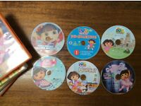 Dora the Explorer DVDs x 6