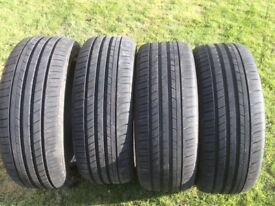 4 tyres 195 45 16 done 200mile like new