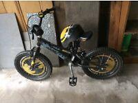 Batman Boys Bike and Helmet