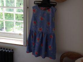 Ladies floral cotton dress