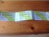 Marilyn Manson tickets X 3 Newport