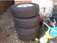 Citroen alloy 4 seasons Pirelli wheels and tyres (4)