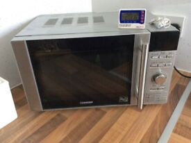 Stainless steel micro wave oven