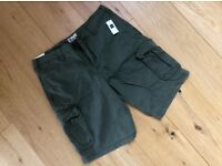 Brand New GAP Khaki Green Cargo Shorts 34""