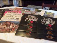 Vinyl 33rpm LPs x 120 - classical, operetta, folk, light music etc.