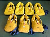 7 Lifejackets for sale. All in good condition.