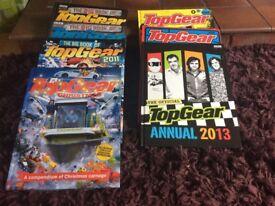 Top Gear books x 7