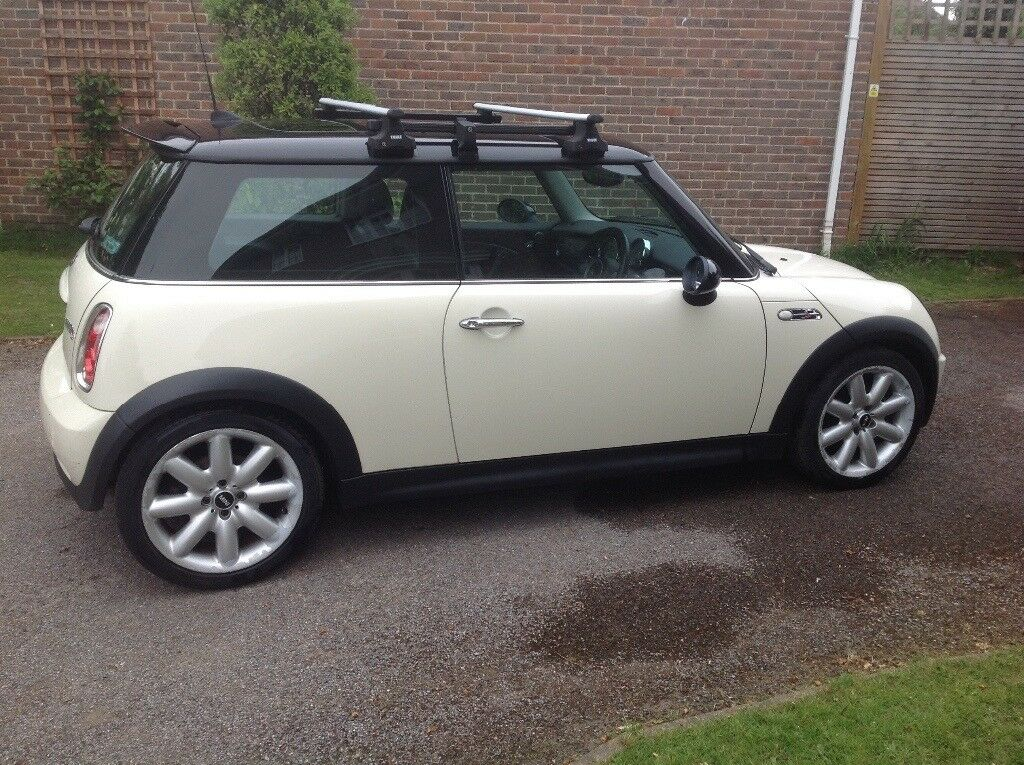 Thule Roof Bar Rack System For R53 Mini Cooper Two Cross
