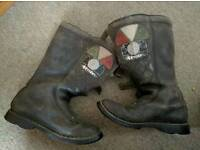 Alpinestar mens size 11 motorcycle boots. Used still life left cheap off road bargain