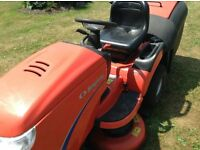 Simplicity Baron 18HP Ride On Mower with collector. 40 inch Cut.
