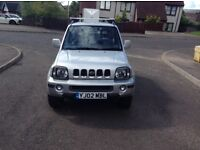 2002 Suzuki Jimny special switchable 2/4 wheel drive high and low ratio