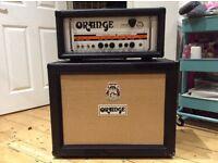 Orange TH30 amplifier head + 2x12 open-back cab Vintage 30s