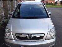 Vauxhall Meriva 2008 (57 plate) FSH, MOT til May 17