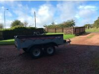Trailer 4 wheel caddy 640 t