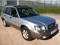 2003 SUBARU FORESTER 4X4 ESTATE WITH TOW BAR **FULL MOT**